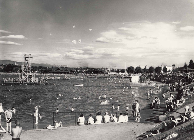 Kitsilano Beach Pool c. 1950